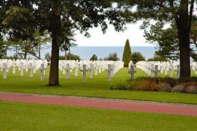 Omaha Beach cimitero americano