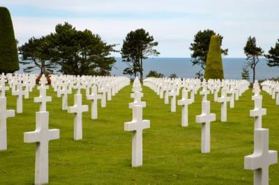 Omaha beach cimitero