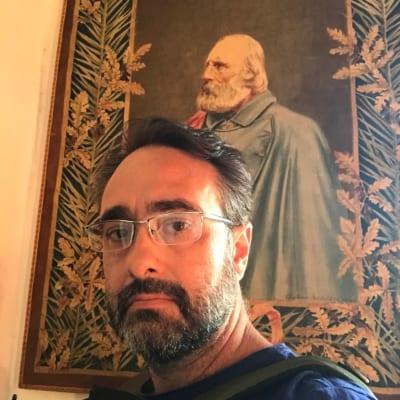 Paolo casa di Garibaldi Caprera