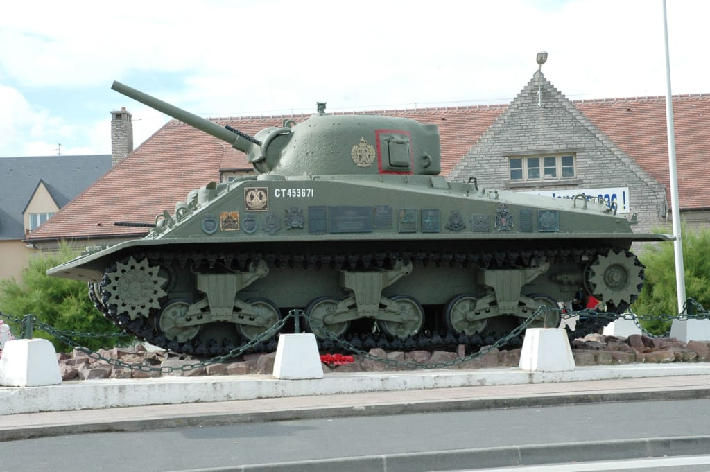 Carro Sherman Juno Beach