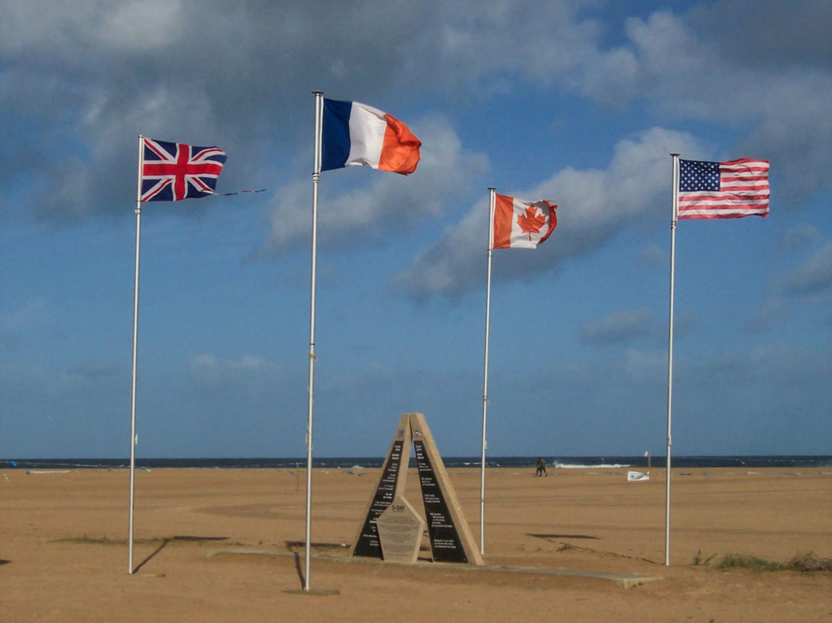 Sword beach landing beaches