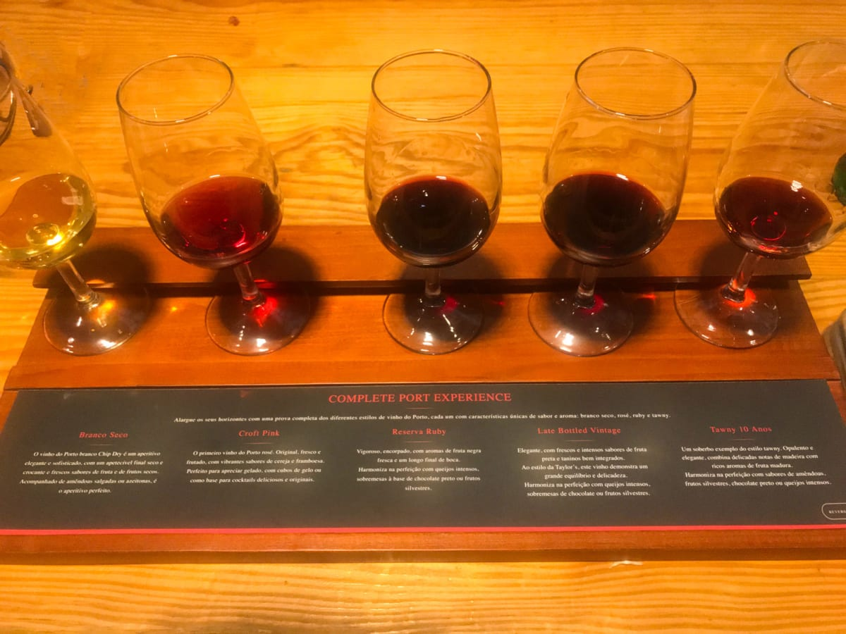 Vino Porto degustazione