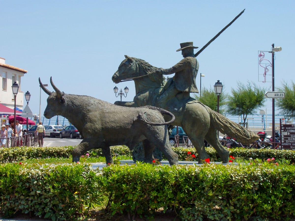 Camargue monumento cavalieri