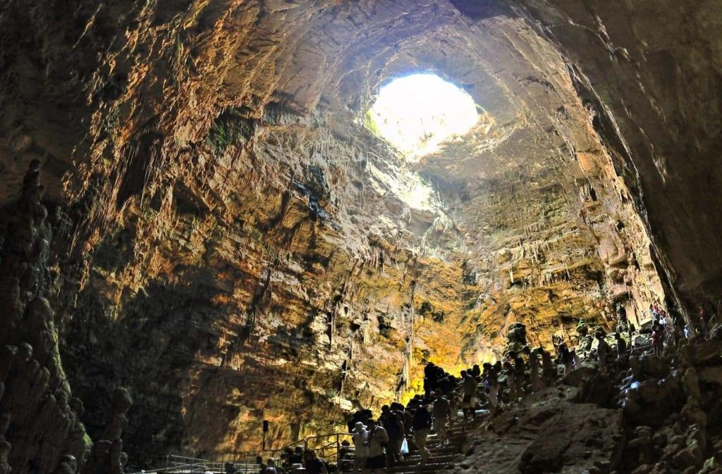 grotte di castellana Entrata