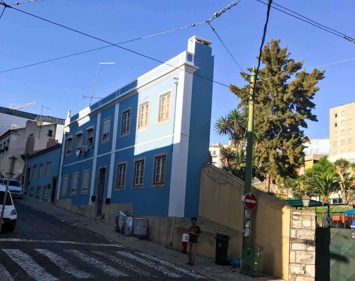 Casa stretta Lisbona