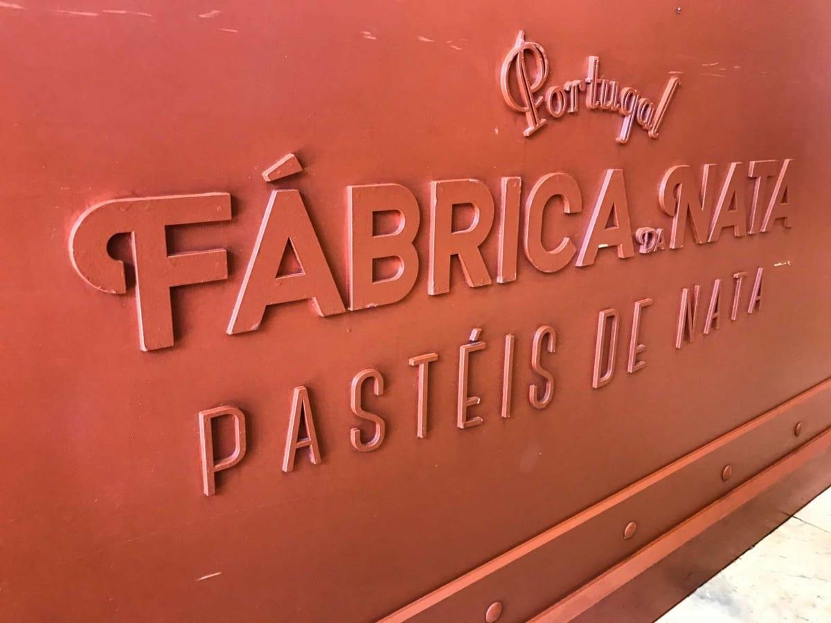 Fabrica de nata Lisbona