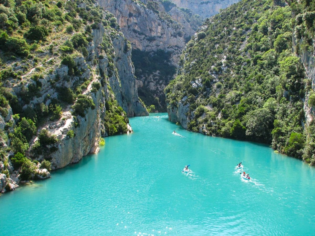 Gole del Verdon - Canyon