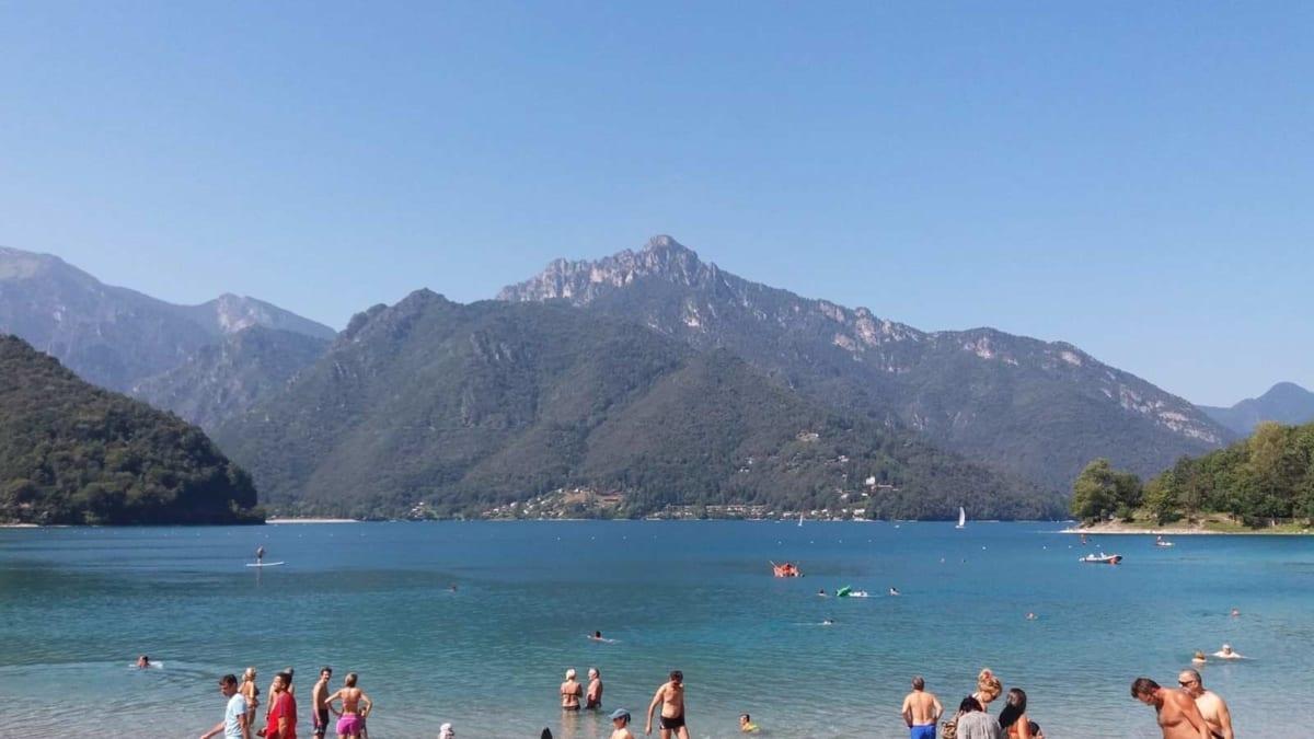 Lago di Garda sentiero del Ponale
