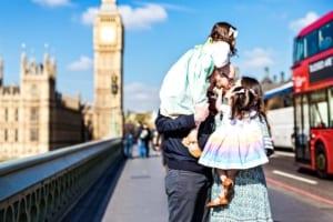 Londra con bambini