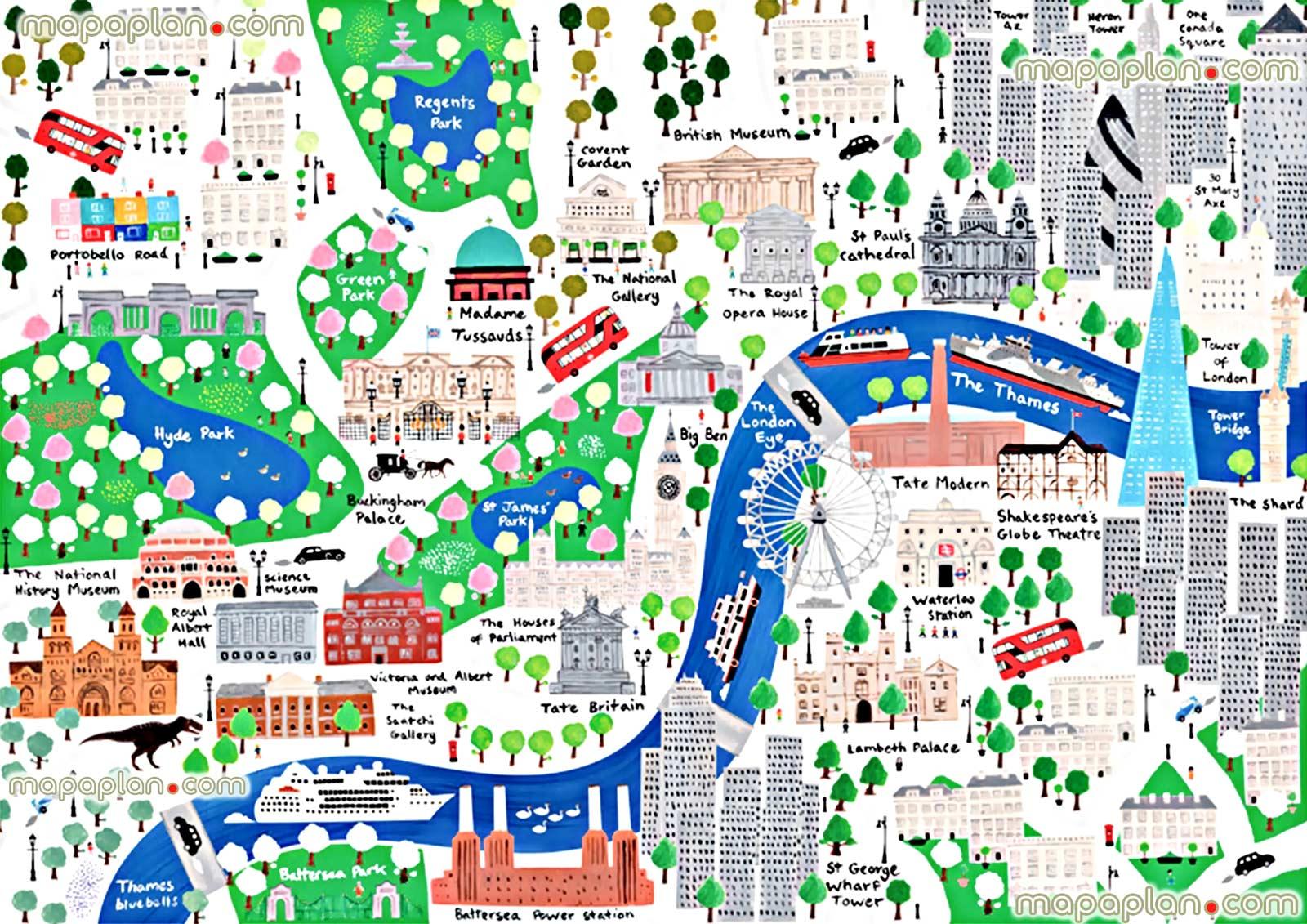 Cartina Di Londra Con Monumenti.Londra Con Bambini Scoprire La Citta Con Mamma E Papa Dovevado Net
