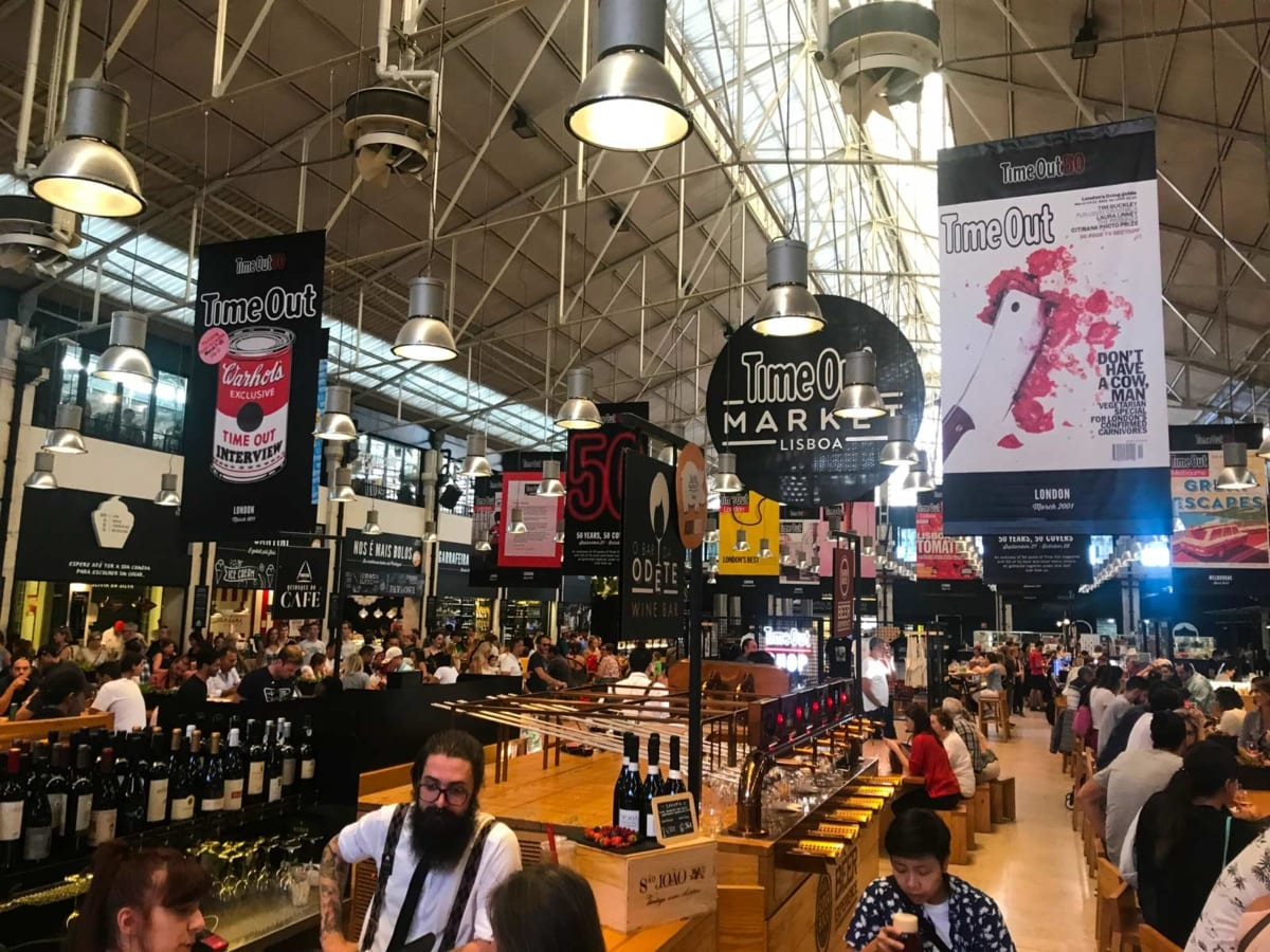 Mercato della Ribeira Time out Lisbona