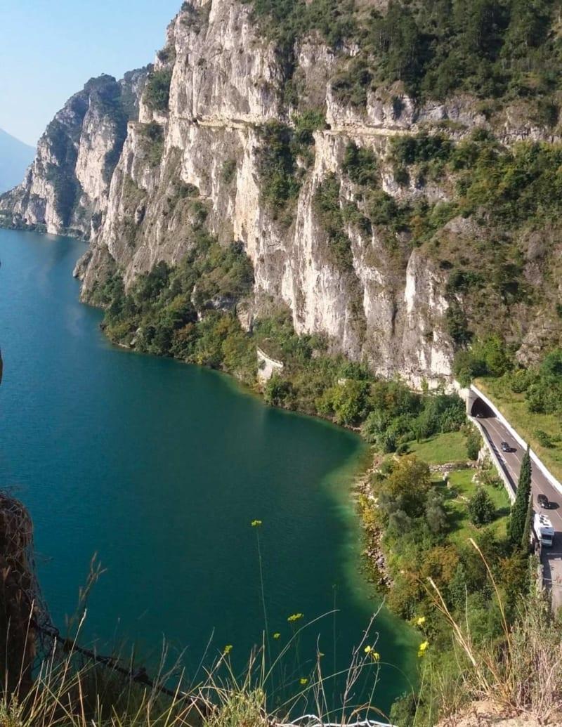 Sentiero del Ponale - vista lago di Garda