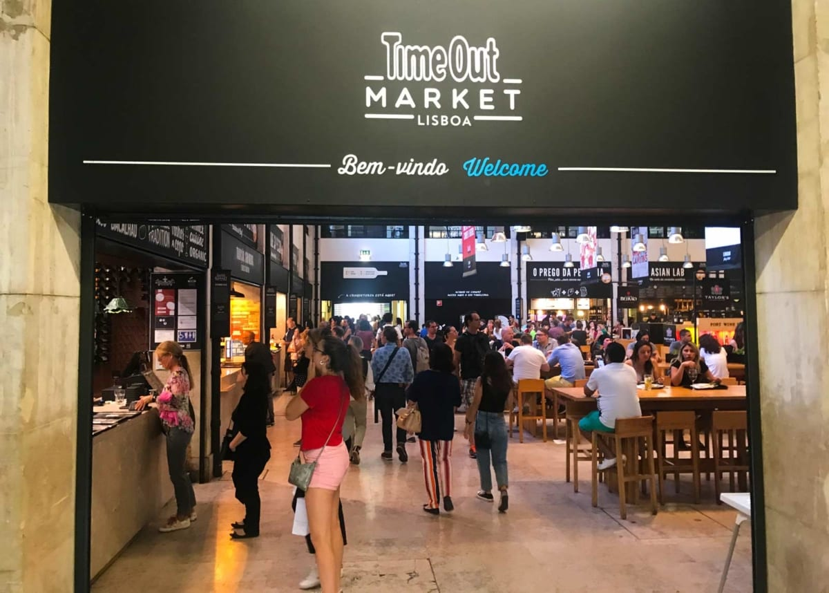 Time out market Lisbona