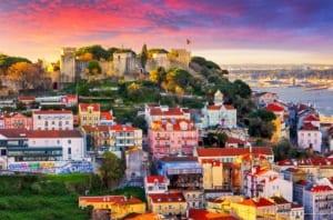 Visitare Lisbona - castello di Sao Jorge