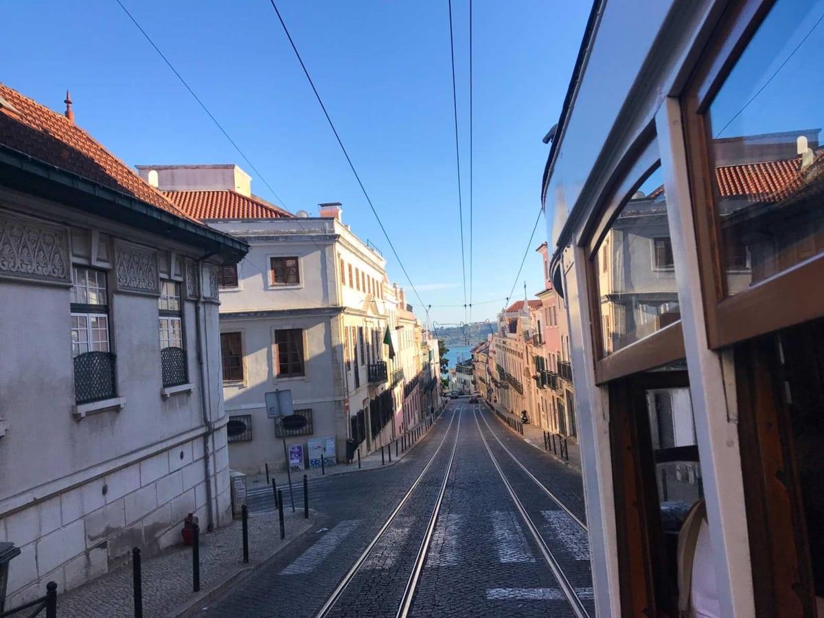 tram 28 Lisbona