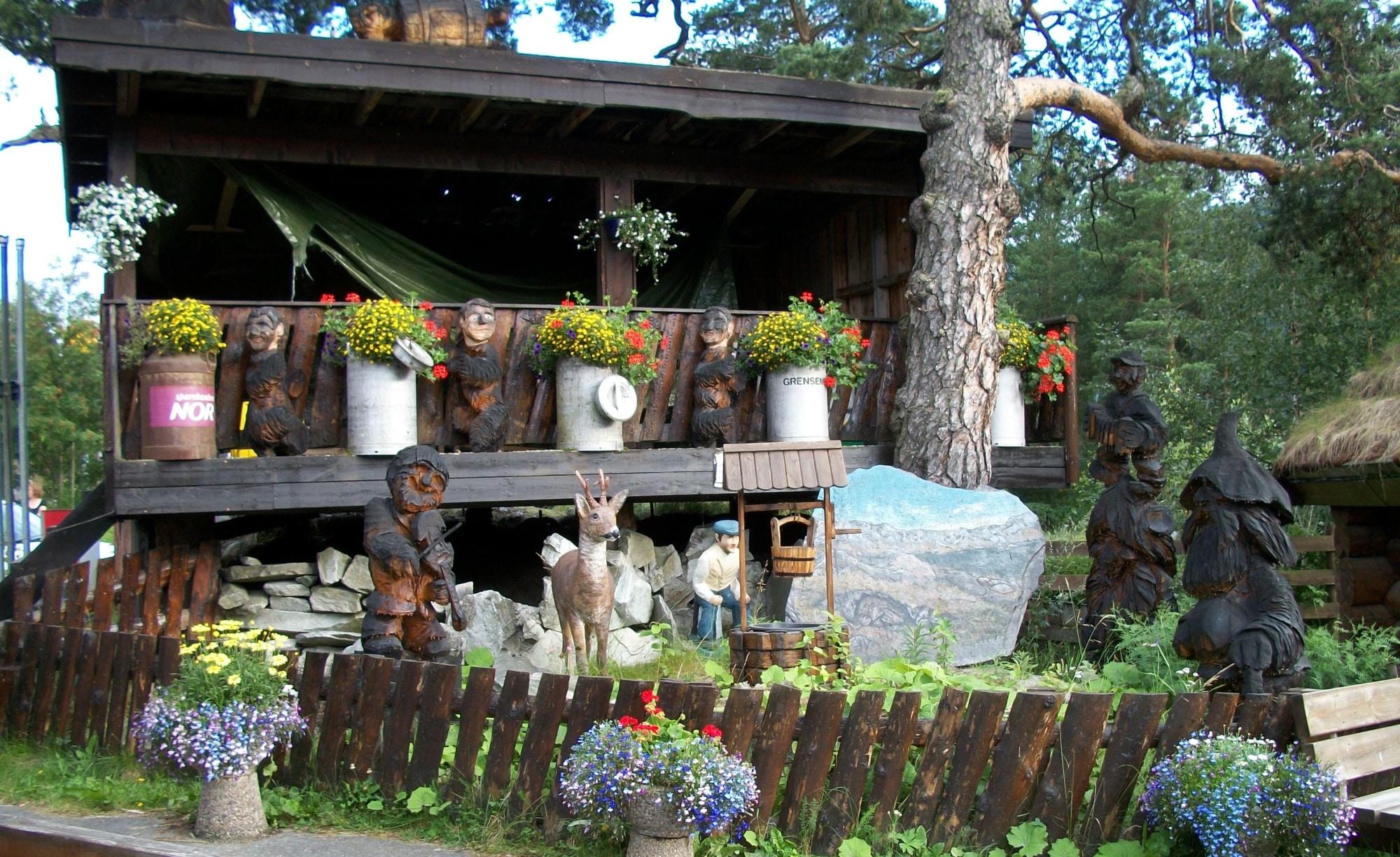 la strada dei Troll in Norvegia
