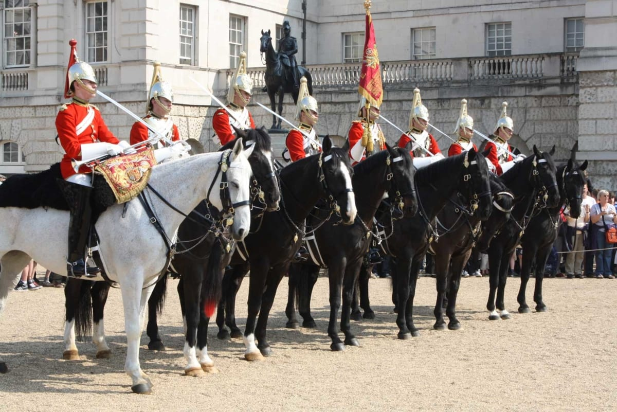 House of guards parades