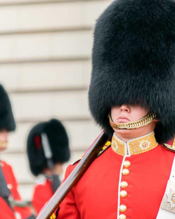 cambio della guardia Londra - copricapi orso