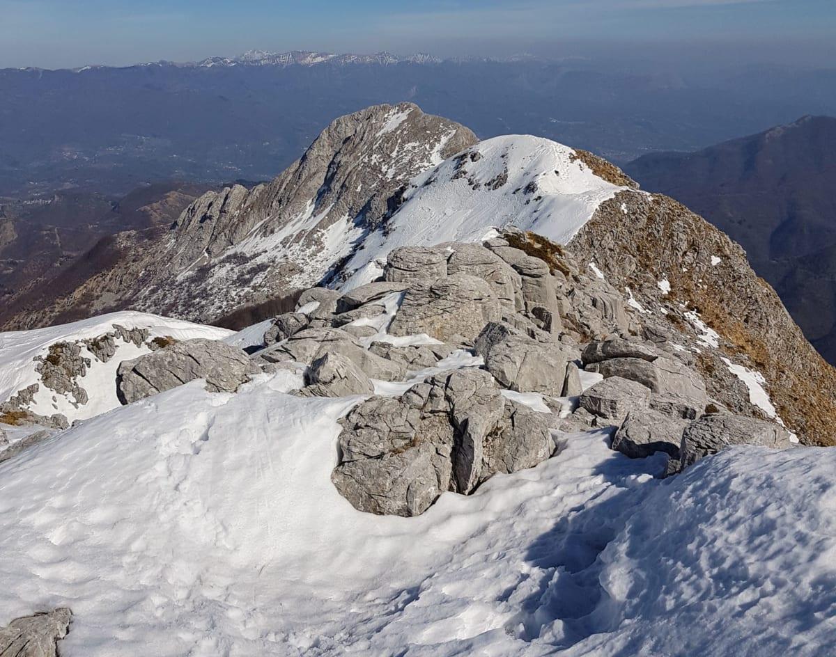 Alpinismo sulle Apuane - Colle-della-Lettera