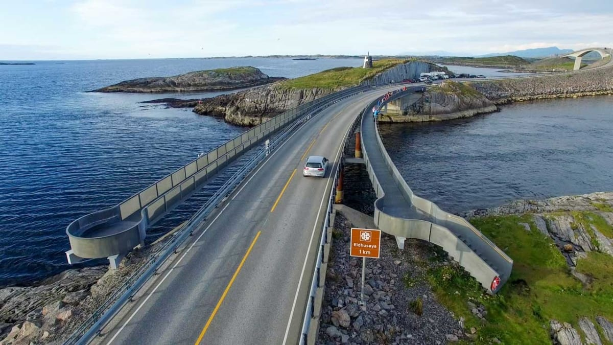 Atlantic Road Norvegia