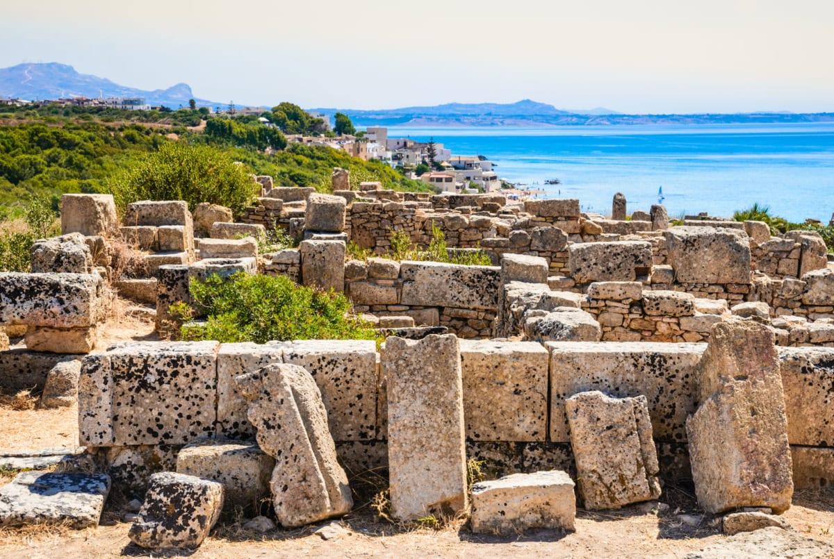 Selinunte ancient city Pianoro della Manuzza