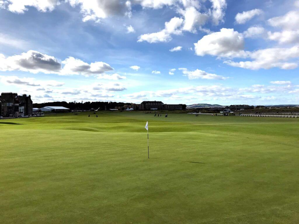 old course St Andrews - buca 18