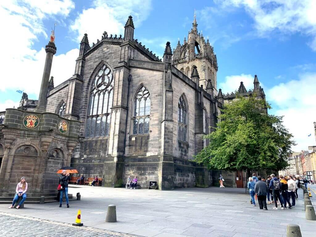 Cattedrale di St Gile's Royal mile Edimburgo