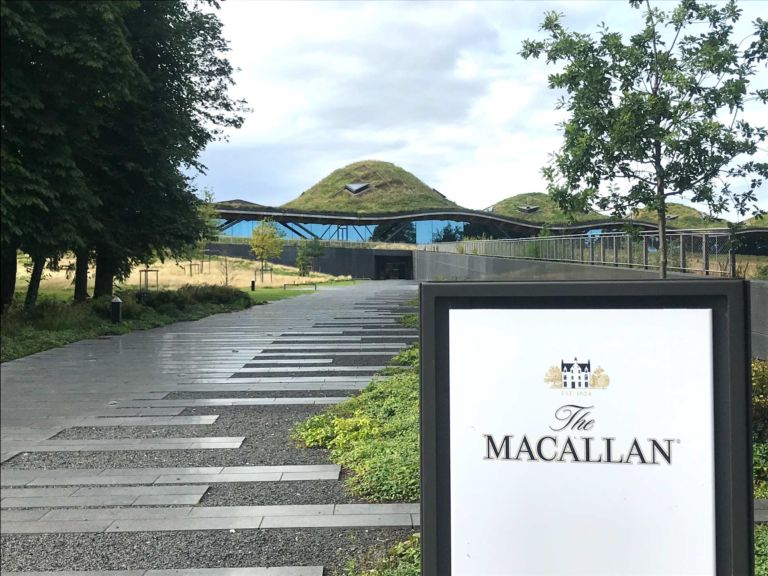 Whisky tour - Macallan distillery - Speyside Whisky