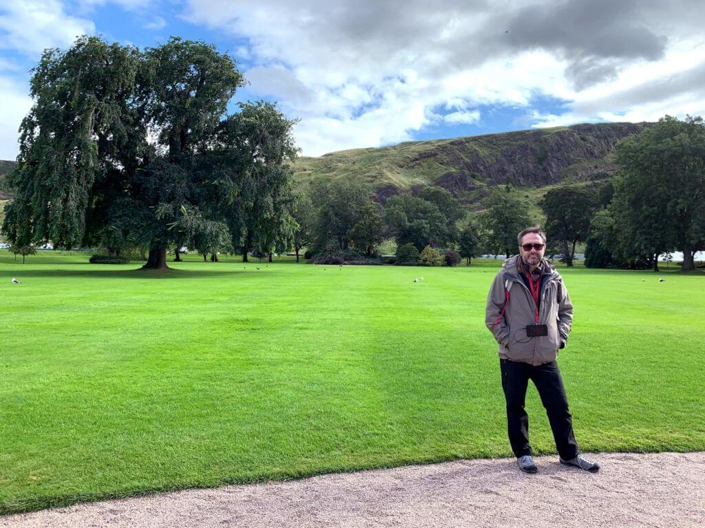Holyrood Palace - Giardini