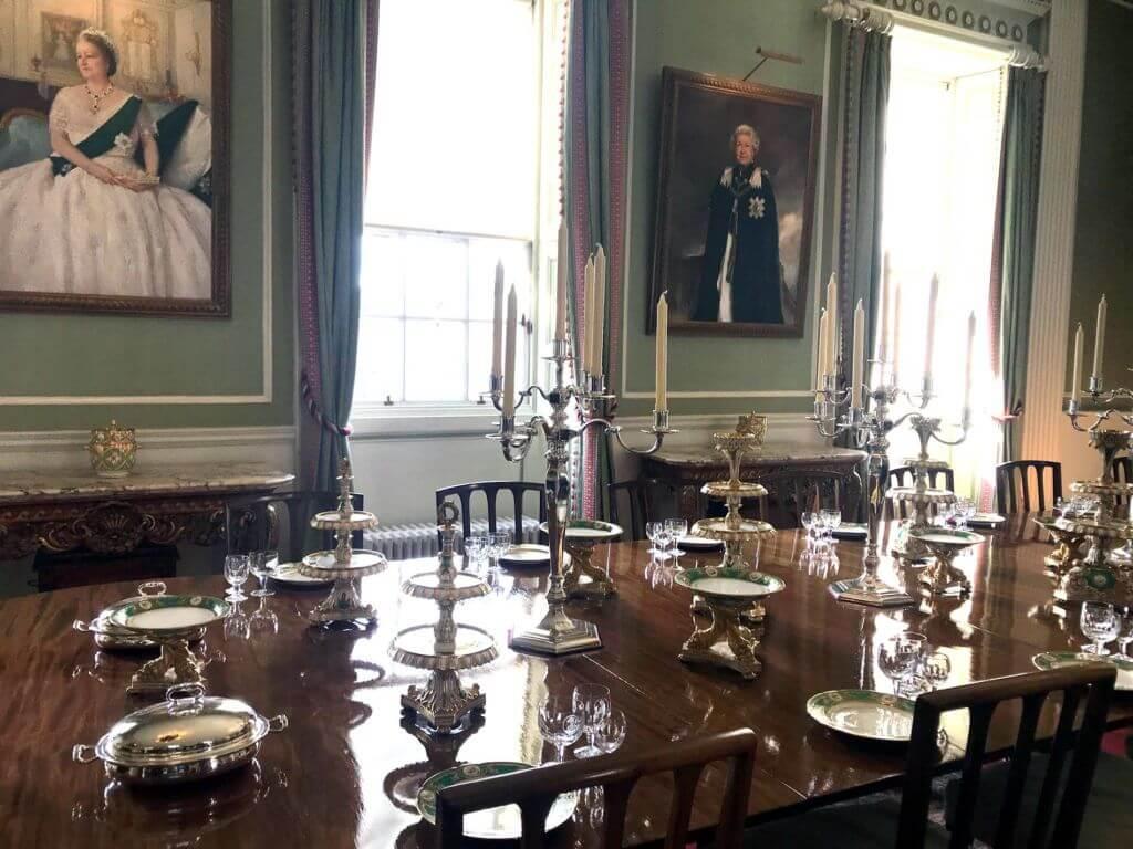 Holyrood Palace - Sala da Pranzo della Regina