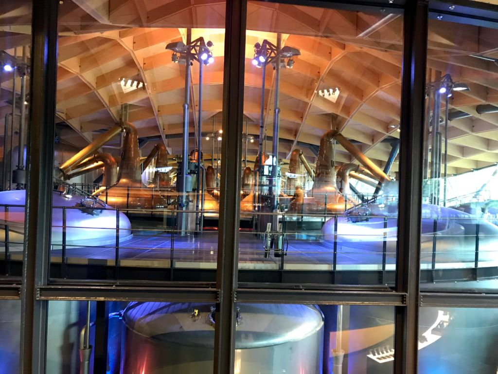 Macallan distillery stills