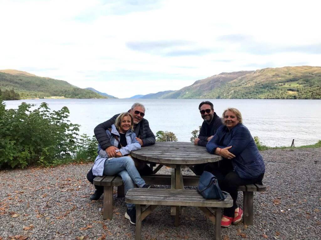 Pranzo sul lago di Lochness