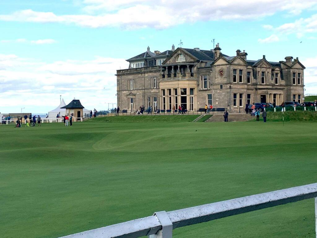 Saint Andrews Old Course Club house