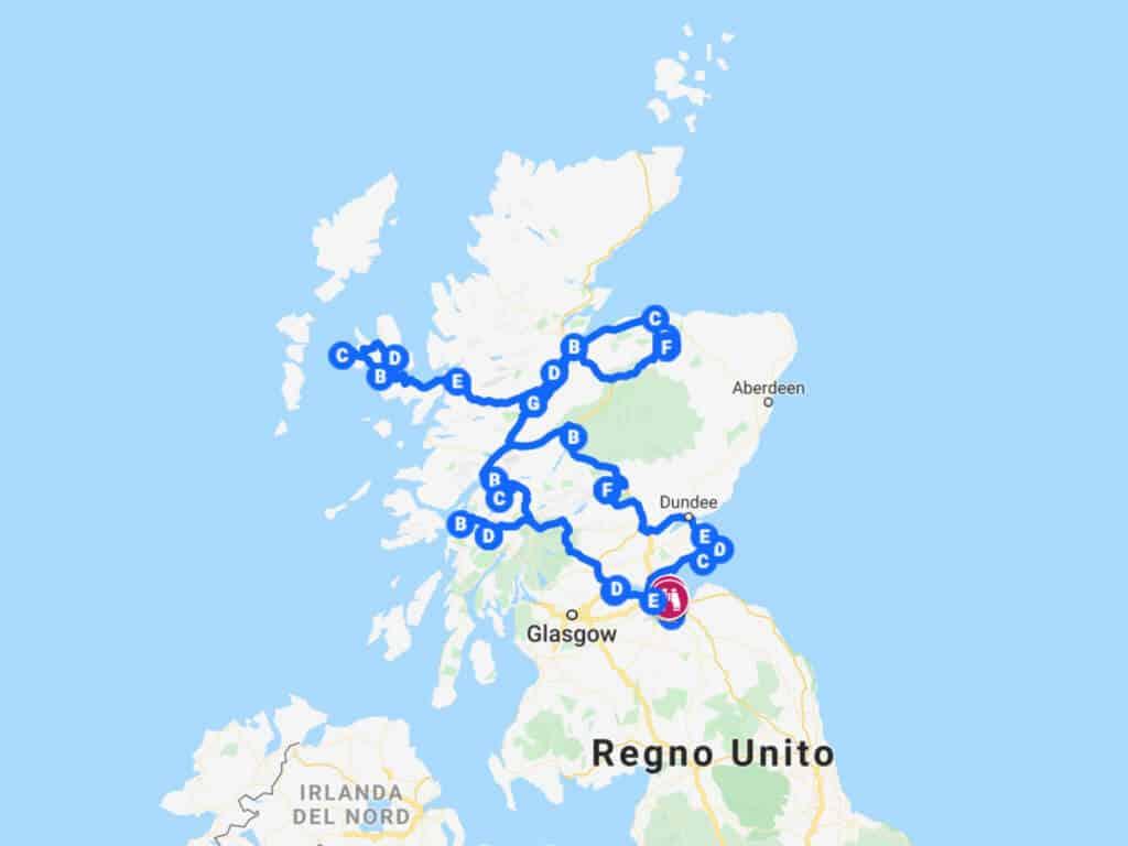 Dove Si Trova La Scozia Cartina.Scozia Tour Cosa Vedere In 7 Giorni Nelle Highlands Dovevado Net