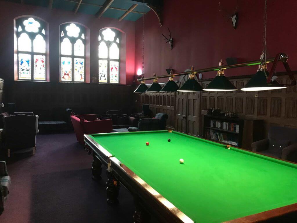 The Highlands club Sala Giochi