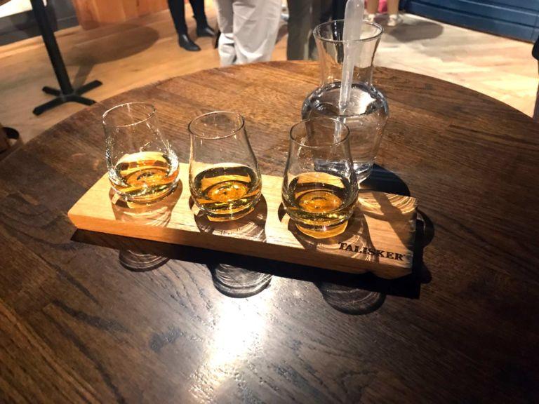 Talisker whisky tour