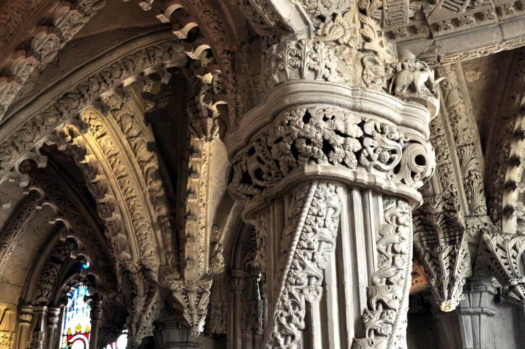 The apprentice Pillar - La colonna dell'apprendista