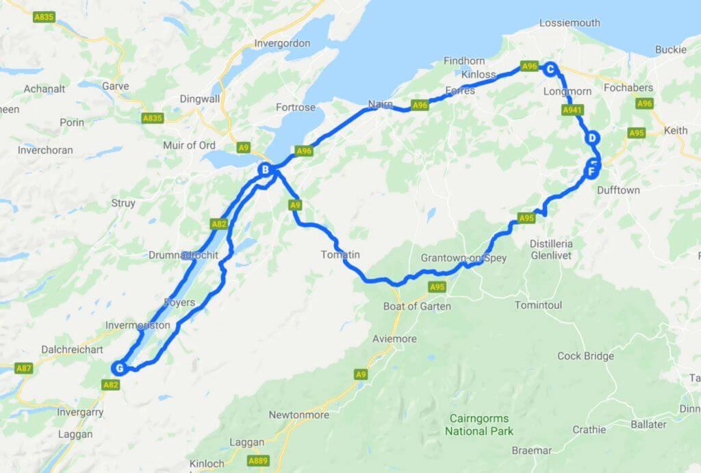 Tour della scozia - quinto giorno