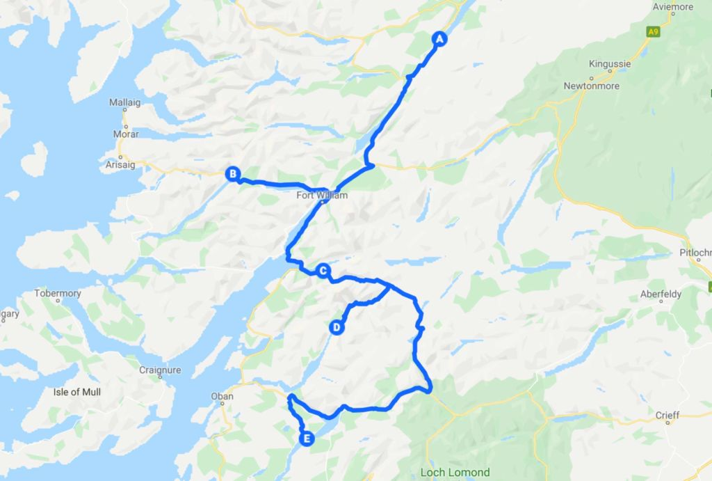 Viaggio in scozia in auto tappa 6