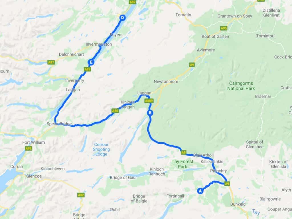 Tour Scozia - Terza Tappa