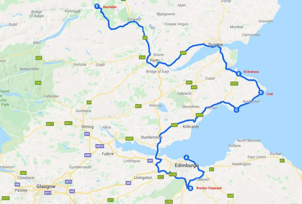 Tour Scozia - Secondo Giorno