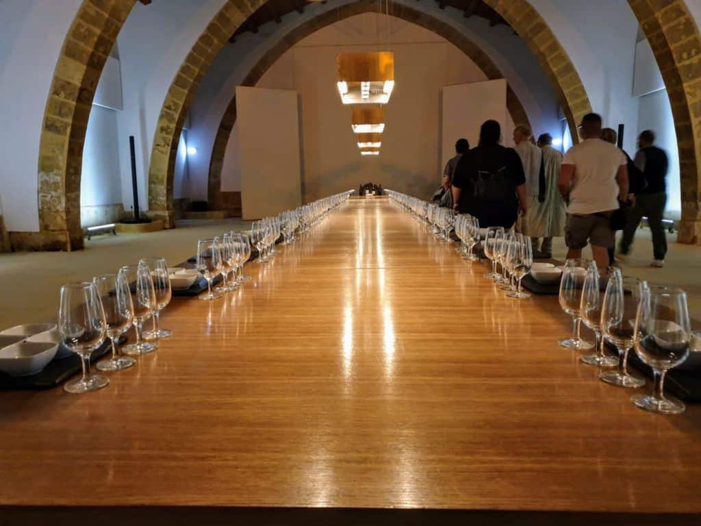 Cantina Florio Marsala - Sala Degustazione