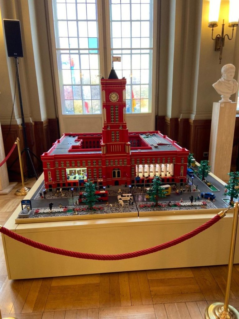 Rotes Rathaus LEGO