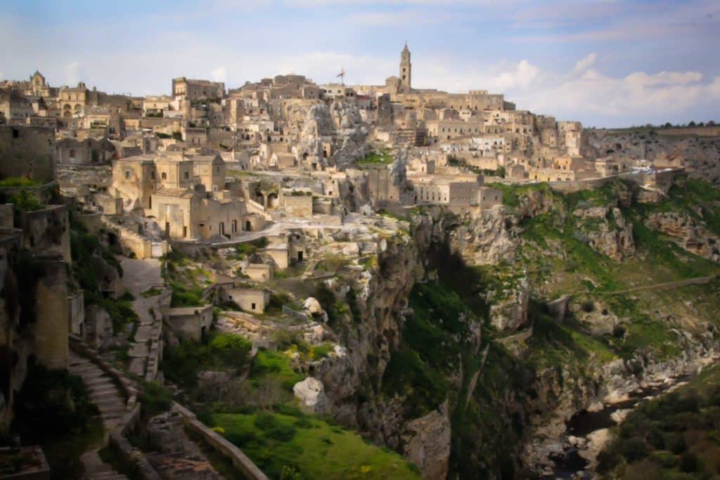 Sassi di Matera Unesco World Heritage Site