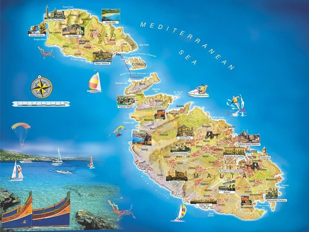 Malta mappa