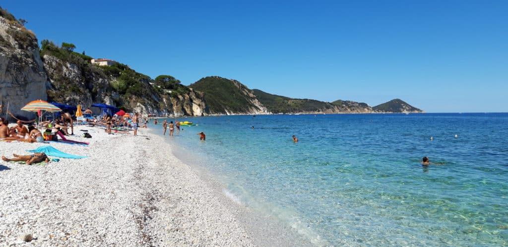 Capo Bianco spiagge isola d'elba - © Simona Spinelli