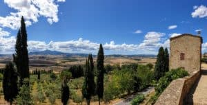 Pienza Panorama