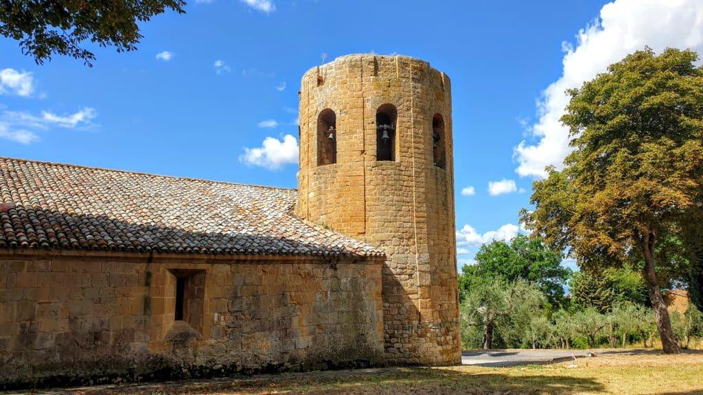 pieve di Corsignano torre campanaria