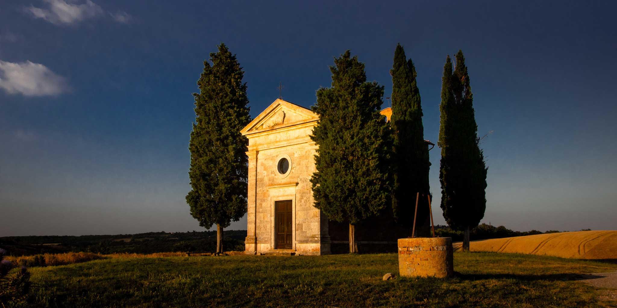 Cappella Vitaleta san Quirico d'Orcia