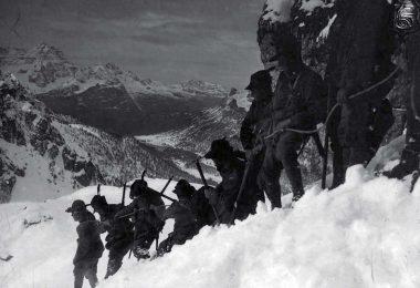 La strada delle 52 gallerie Pasubio 1916